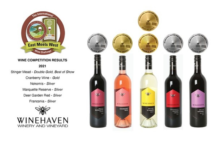 Winehaven Honored at East Meets West Wine Competition